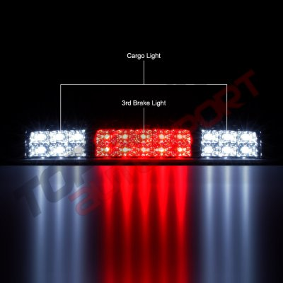Ford F150 2004-2008 Smoked Full LED Third Brake Light Cargo Light