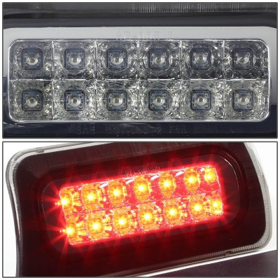 Chevy S10 Regular Cab 1994-2003 Smoked Full LED Third Brake Light