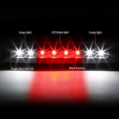 Dodge Dakota 1997-2010 Black Full LED Third Brake Light Cargo Light