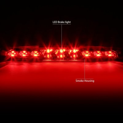 Chevy Corvette 1997-2004 Smoked LED Third Brake Light