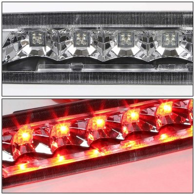 Ford Mustang 2005-2009 Chrome LED Third Brake Light