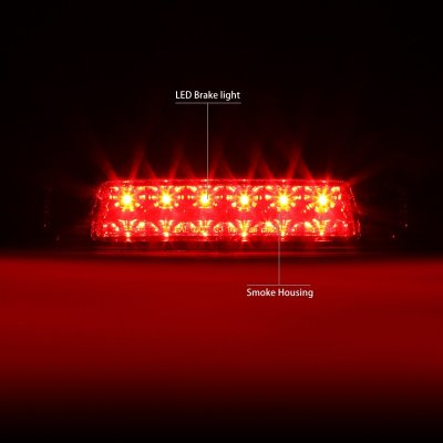 Toyota Highlander 2001-2003 Smoked LED Third Brake Light