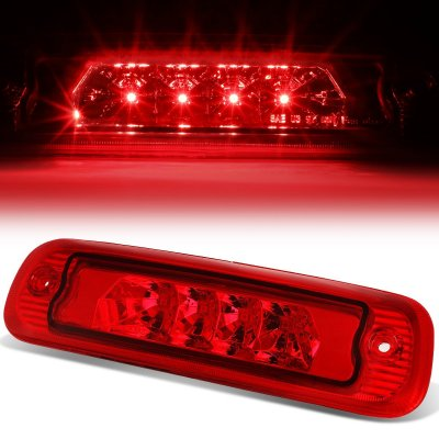 01 F250 Headlights >> Jeep Cherokee 1997-2001 Red LED Third Brake Light ...