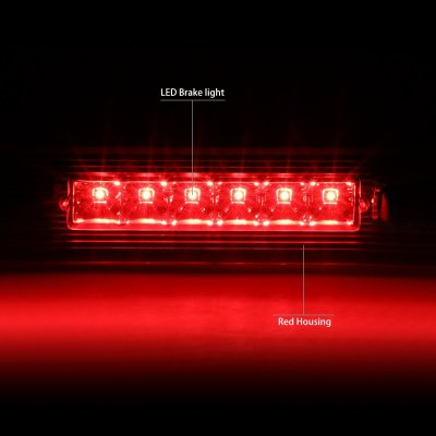 Jeep Grand Cherokee 2005 2010 Red Led Third Brake Light