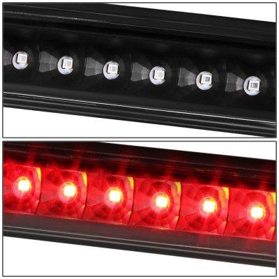 Dodge Caliber 2007-2012 Black LED Third Brake Light
