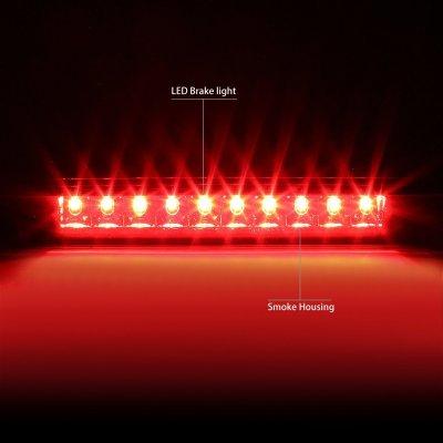 Dodge Caliber 2007-2012 Smoked LED Third Brake Light