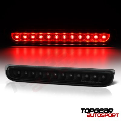 Toyota FJ Cruiser 2007-2015 Black Smoked LED Third Brake Light