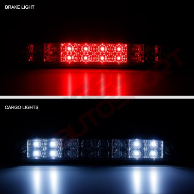 Ford F250 Super Duty 1999-2016 Smoked Full LED Third Brake Light Cargo Light