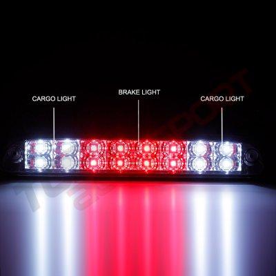 1998 Ford Ranger Smoked Full LED Third Brake Light Cargo Light