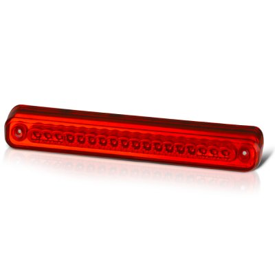 Chevy 3500 Pickup 1988-1998 Red Full LED Third Brake Light Cargo Light