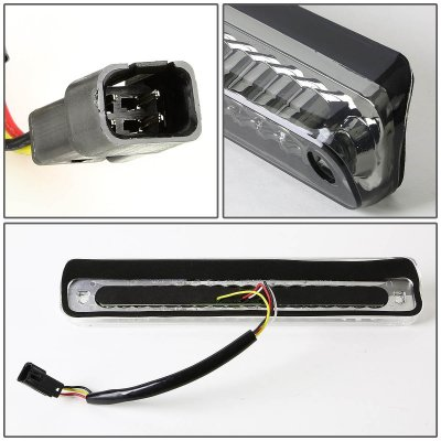 Chevy Silverado 1988-1998 Smoked Full LED Third Brake Light Cargo Light