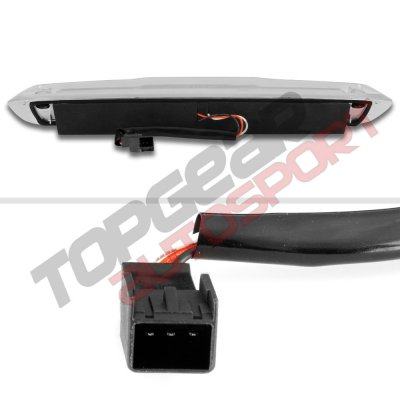 Chevy Silverado 2500HD 2007-2014 Clear Full LED Third Brake Light Cargo Light