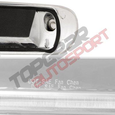 Chevy Silverado 2500HD 2007-2014 Clear Full LED Third Brake Light Cargo Light