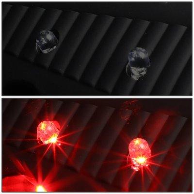 Dodge Ram 2009-2018 Black Smoked LED Tail Lights