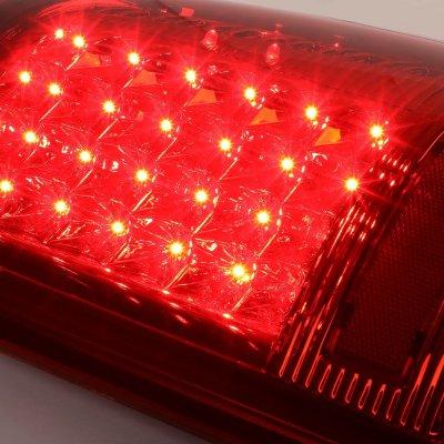 Dodge Ram 3500 2010-2018 Red LED Tail Lights