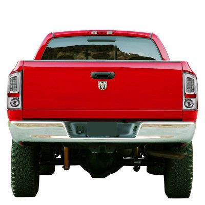 Dodge Ram 2007-2008 Chrome LED Tail Lights Tube