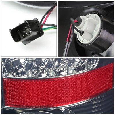 Dodge Ram 2002-2006 Smoked LED Tail Lights