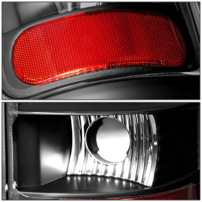 Dodge Ram 2500 1994-2002 Black LED Tail Lights Tube
