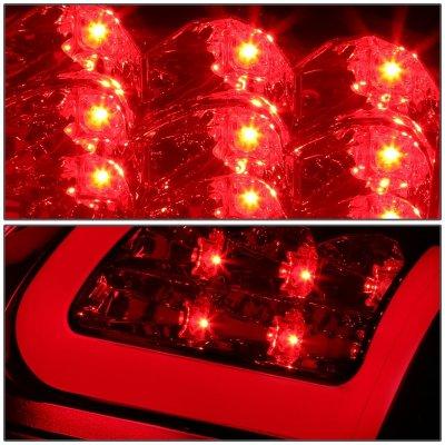 Dodge Ram 1994-2001 Smoked LED Tail Lights Tube