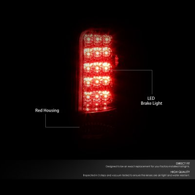 Dodge Ram 1994-2001 Red LED Tail Lights