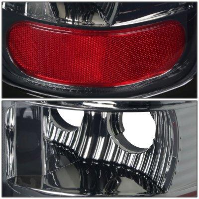 2000 Dodge Ram 2500 Smoked LED Tail Lights