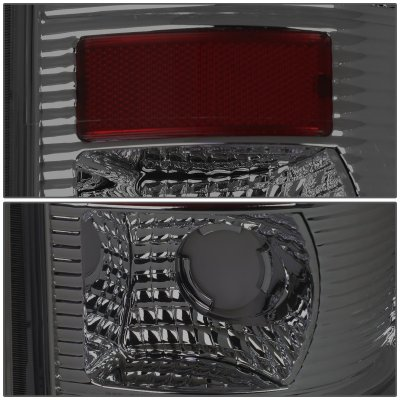 Ford F450 Super Duty 1999-2007 Smoked LED Tail Lights Tube