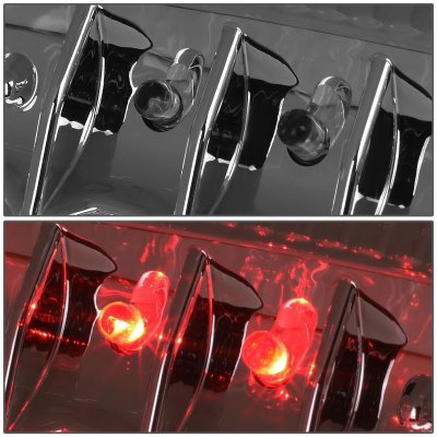 Ford F450 Super Duty 1999-2007 Smoked LED Tail Lights