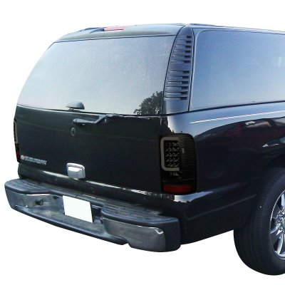 2005 GMC Yukon XL Black Smoked LED Tail Lights Tube