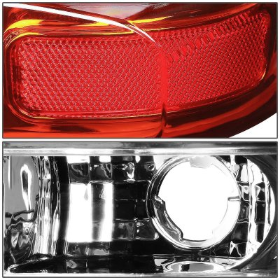 Chevy Suburban 2000-2006 LED Tail Lights Tube