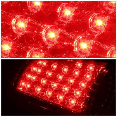 Chevy Silverado 1999-2002 Red LED Tail Lights