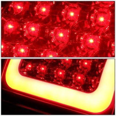 Chevy Silverado 2500HD 2003-2006 LED Tail Lights Red Tube