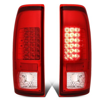 Ford F450 Super Duty 1999-2007 Red LED Tail Lights