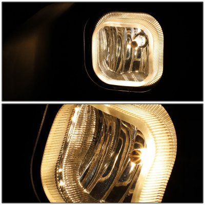 Ford F450 Super Duty 2011-2016 Yellow Fog Lights Kit