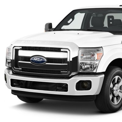 Ford F450 Super Duty 2011-2016 Smoked Fog Lights Kit