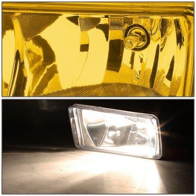 Chevy Silverado 2007-2013 Yellow Fog Lights