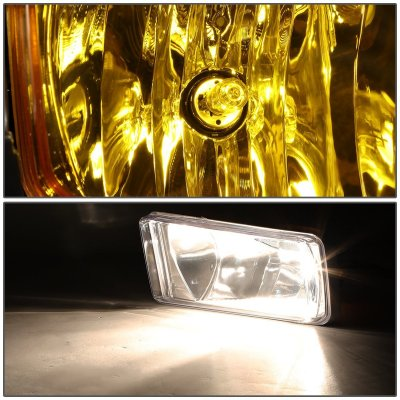 Chevy Silverado 1500 2014-2015 Yellow Fog Lights