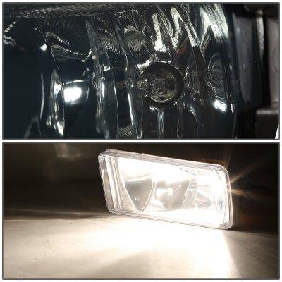 Chevy Silverado 1500 2014-2015 Smoked Fog Lights