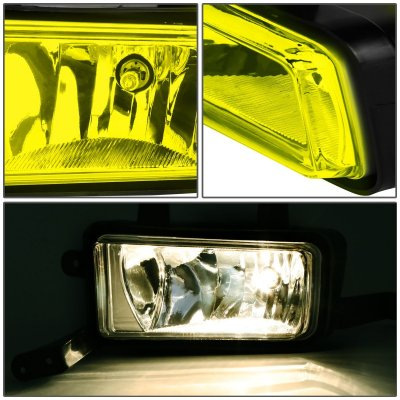 Chevy Suburban 2015-2016 Yellow Fog Lights
