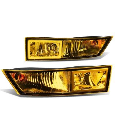 Cadillac Escalade 2007-2014 Yellow Fog Lights
