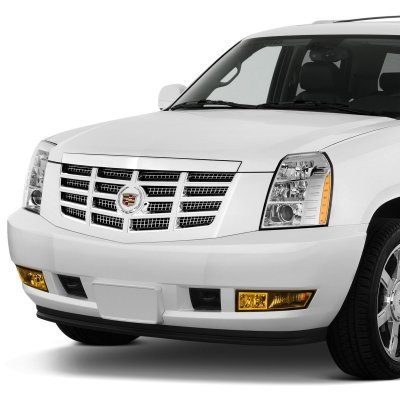 2009 Cadillac Escalade Yellow Fog Lights