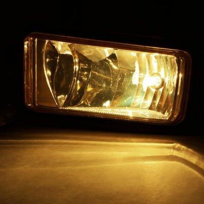 Chevy Suburban 2015-2017 Smoked Fog Lights Black Trim