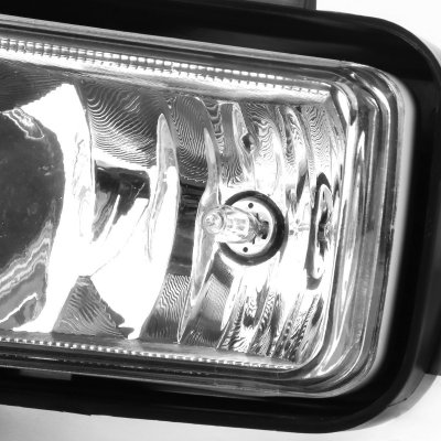Chevy Suburban 2015-2017 Fog Lights Chrome Trim