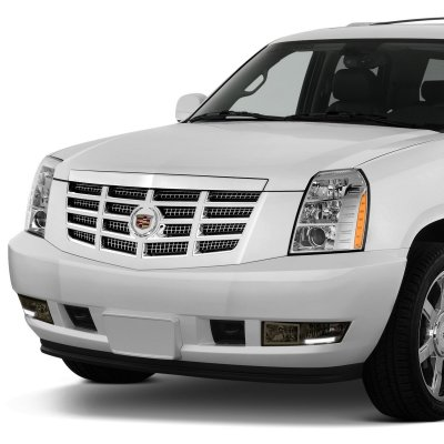Cadillac Escalade 2007-2014 Smoked Fog Lights LED DRL