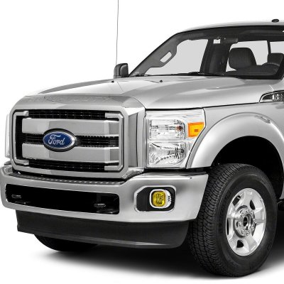 Ford F450 Super Duty 2011-2016 Yellow Fog Lights