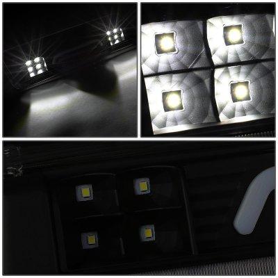 Ford F150 2004-2008 Black Smoked Tube LED Third Brake Light Cargo Light