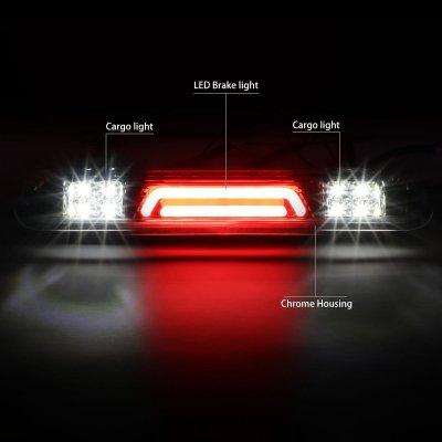 Ford F150 2004-2008 Clear Tube LED Third Brake Light Cargo Light