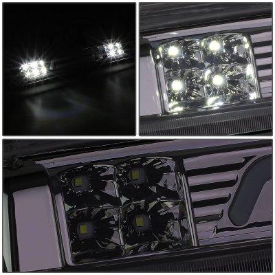 Ford F150 2004-2008 Smoked Tube LED Third Brake Light Cargo Light