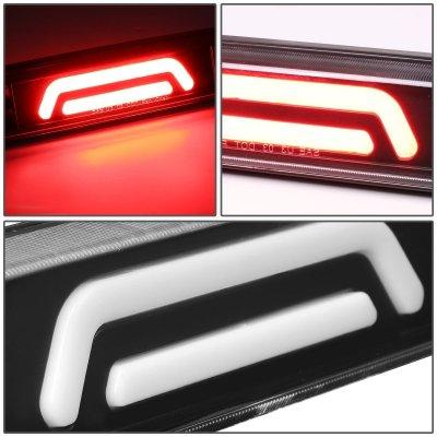Ford F450 Super Duty 1999-2016 Black Tube LED Third Brake Light Cargo Light