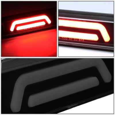 Mazda B2500 1994-2010 Black Smoked Tube LED Third Brake Light Cargo Light