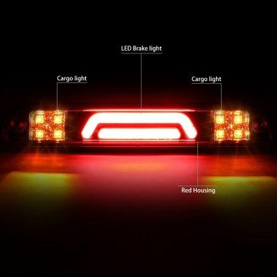 Mazda B2500 1994-2010 Red Tube LED Third Brake Light Cargo Light